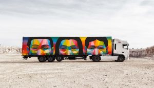 Truck Art Project, Okuda