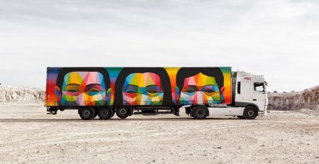 Truck Art Project, Okuda