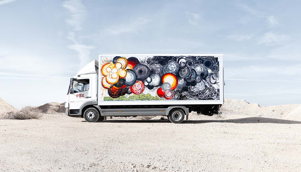 Truck Art Project, Abraham Lacalle