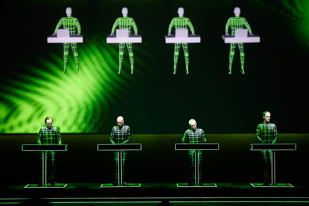 Kraftwerk - foto di Peter Boettcher