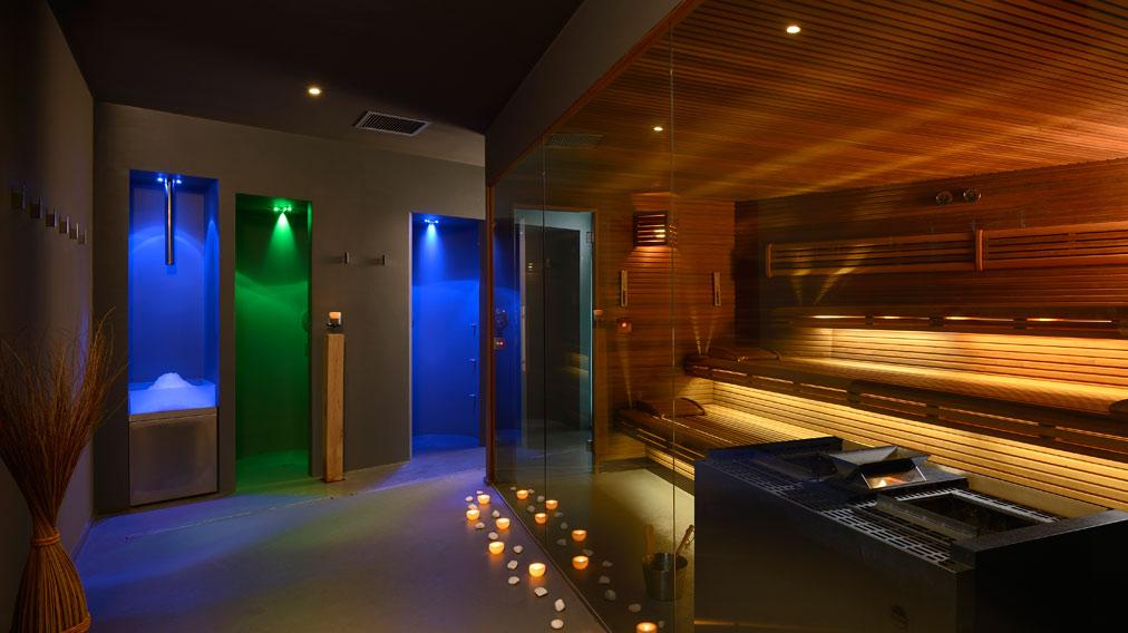 Sauna al Lido Palace di Riva del Garda (TN)
