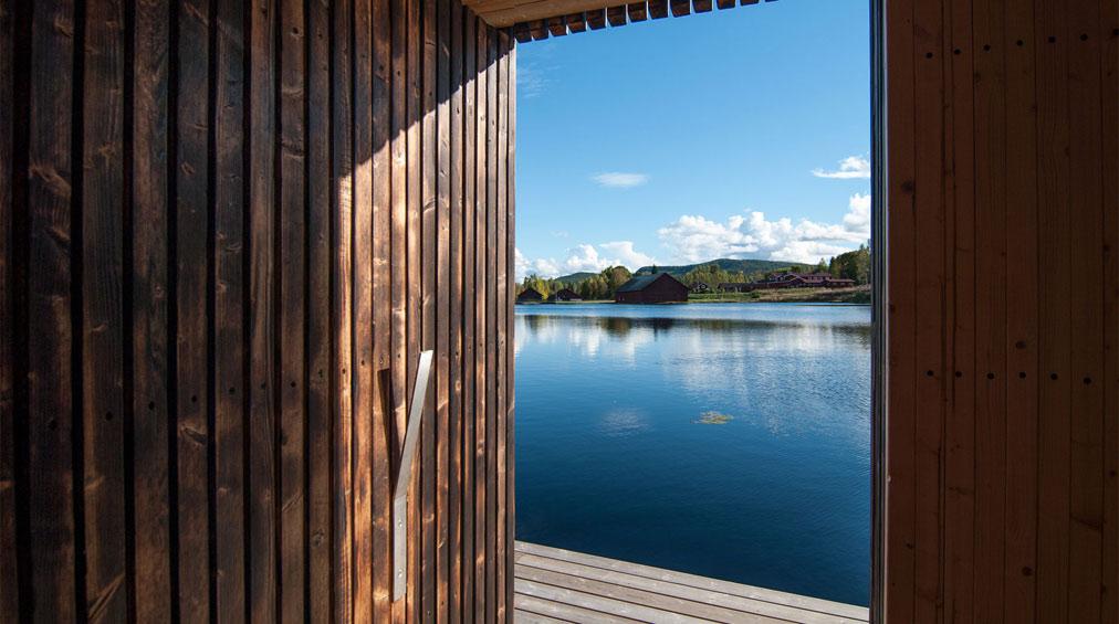 Sauna del collettivo Small Architecture Workshop, foto di Small Architecture Workshop