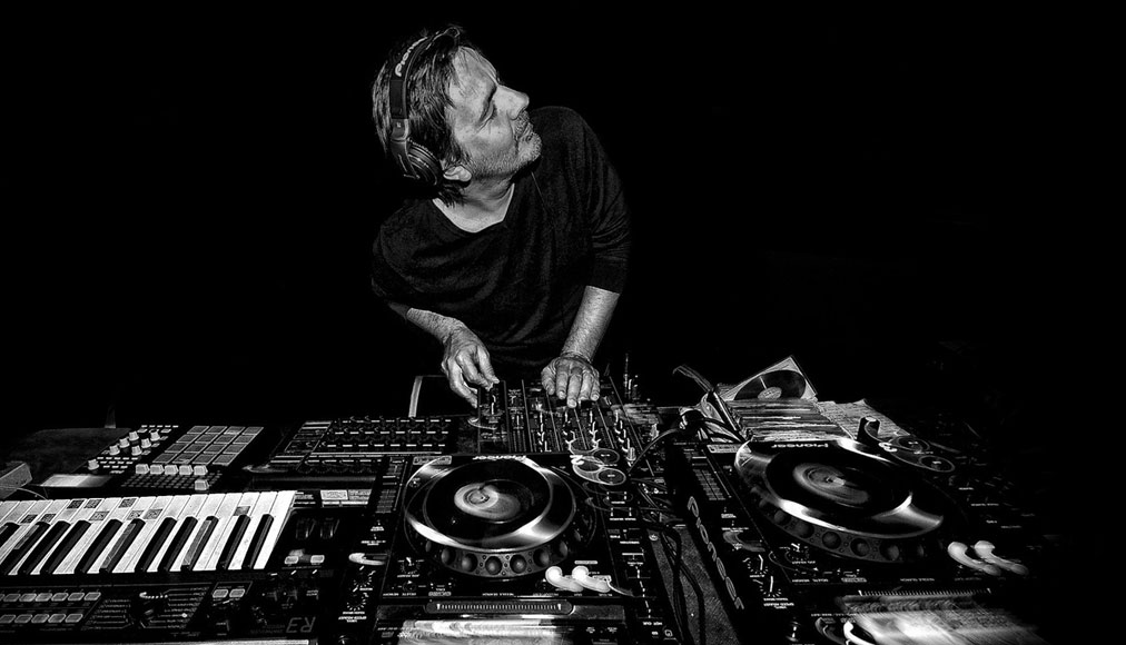 Laurent Garnier in consolle
