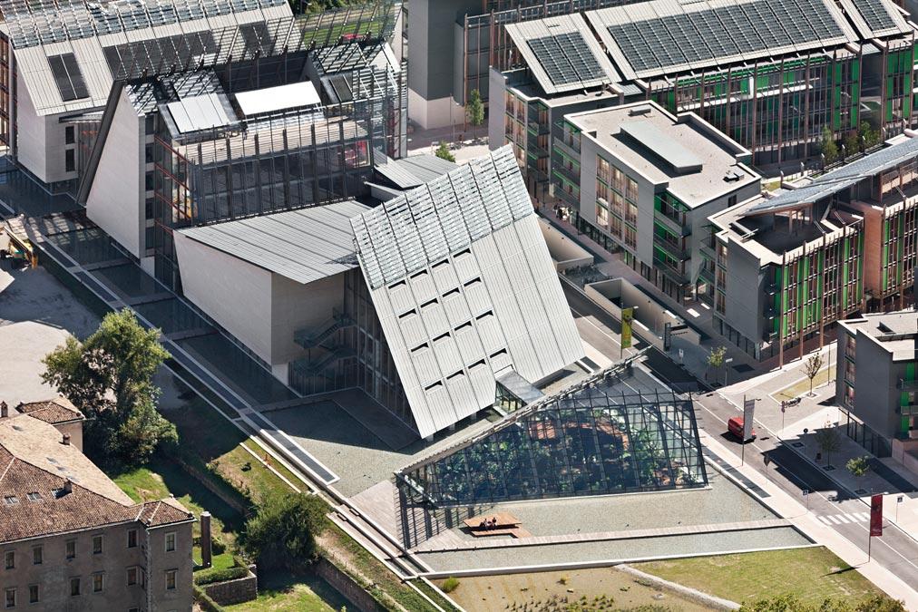 Musei più green, il MUSE di Trento, foto di Paolo Riolzi
