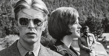 David Bowie, The Men Who Fell to Earth, foto di David James