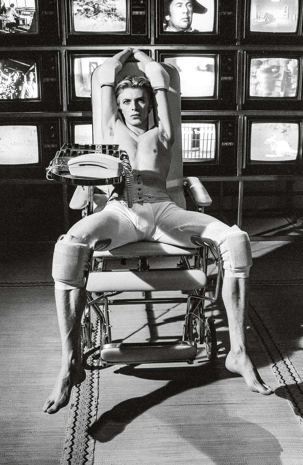 David Bowie, The Men Who Fell to Earth, foto di David Jones