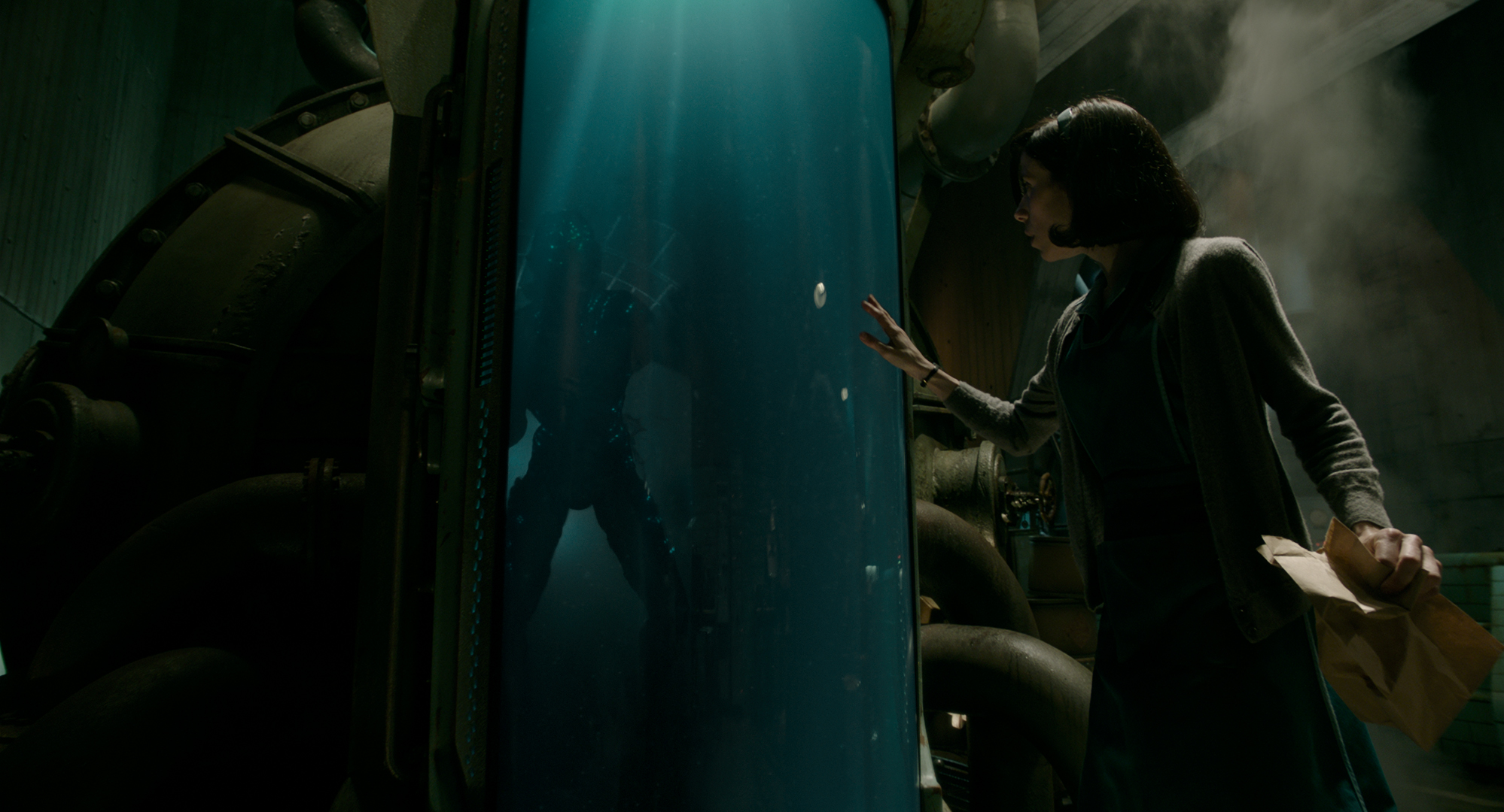 The Shape of Water - Doug Jones and Sally Hawkins Photo Courtesy of Fox Searchlight Pictures © 2017 Twentieth Century Fox Film Corporation All Rights Reserved