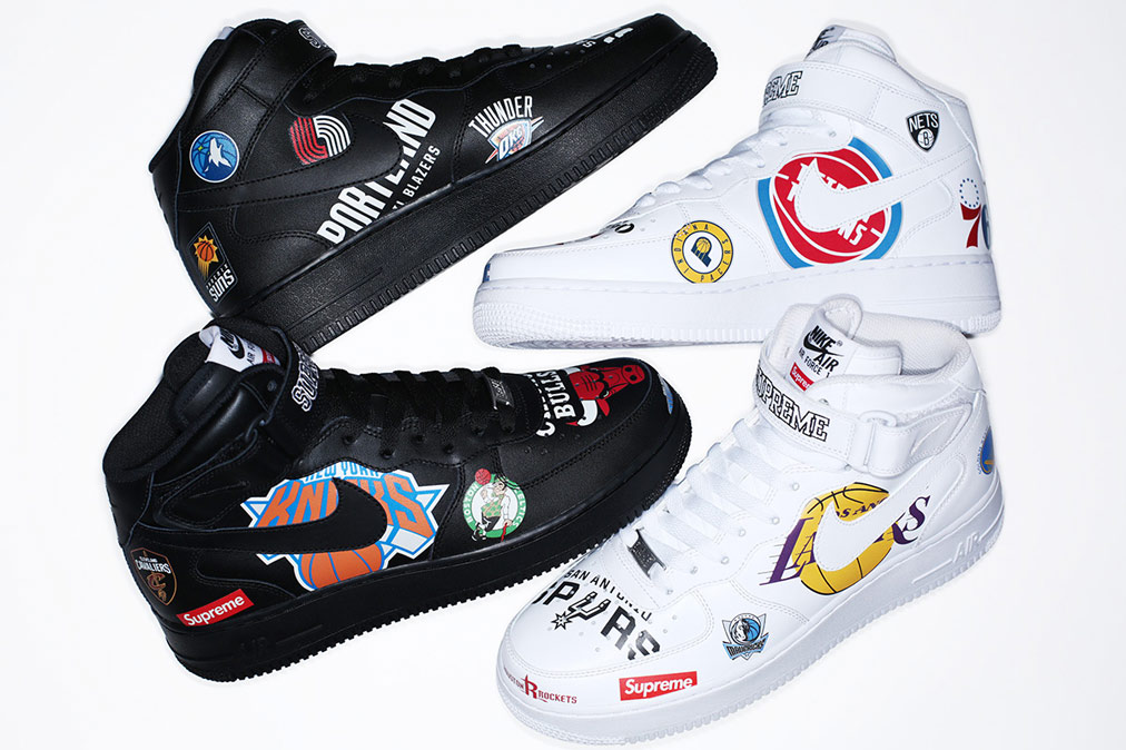 Supreme x NIke x NBA - Air Force One MidSupreme x NIke x NBA - Air Force One Mid