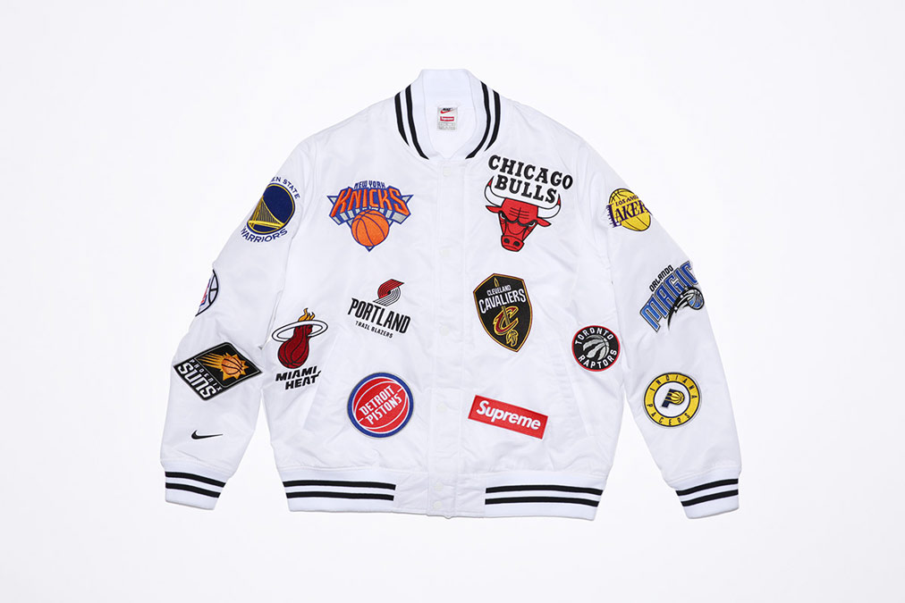 Supreme x NIke x NBA - warm up jacket