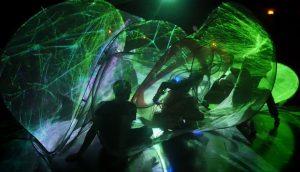 Rebel Machines / Subversive Bodies - installazione audio/video e performance di Jaime Del Val