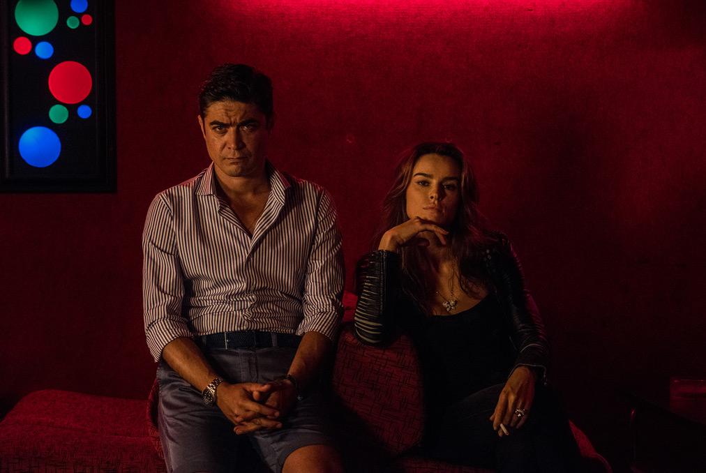 Loro 1, Riccardo Scamarcio e Kasia Smutniak - foto di Gianni Fiorito