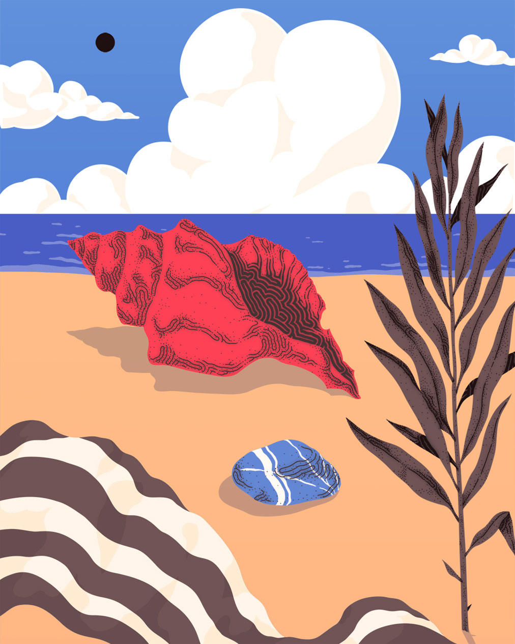 Cripsta - illustrazione per Beaches Brew