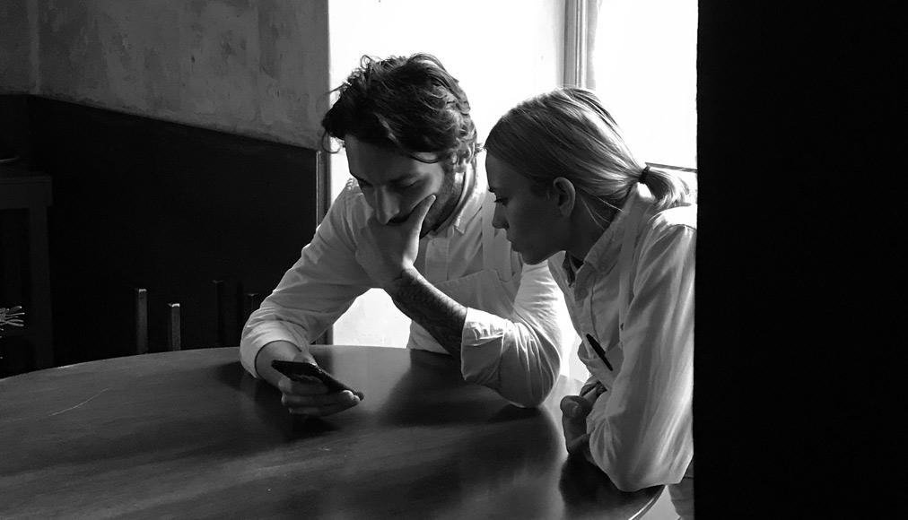Floriano Pellegrino e Isabella Potì al ristorante Bros di Lecce