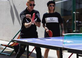Fred Perry Table Tennis Tournament - foto di Martina Giovanna Bardot