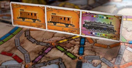 giochi da tavolo - Ticket to Ride. foto di Mateus Zajda