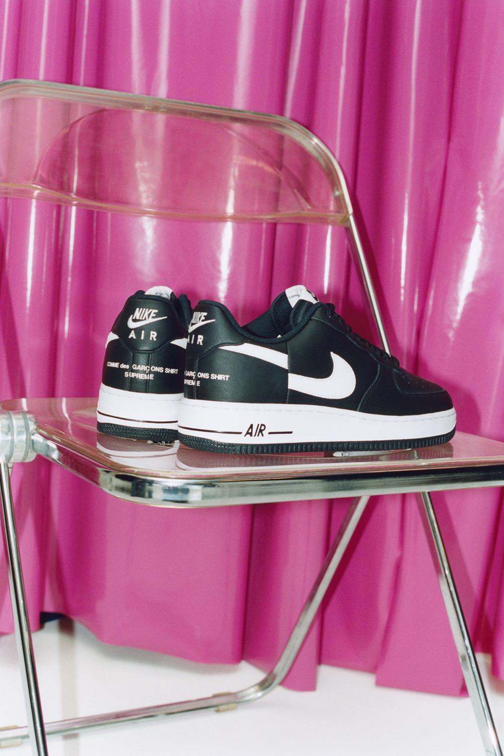 Supreme x Commes Des Garçons, le Nike Air Force One