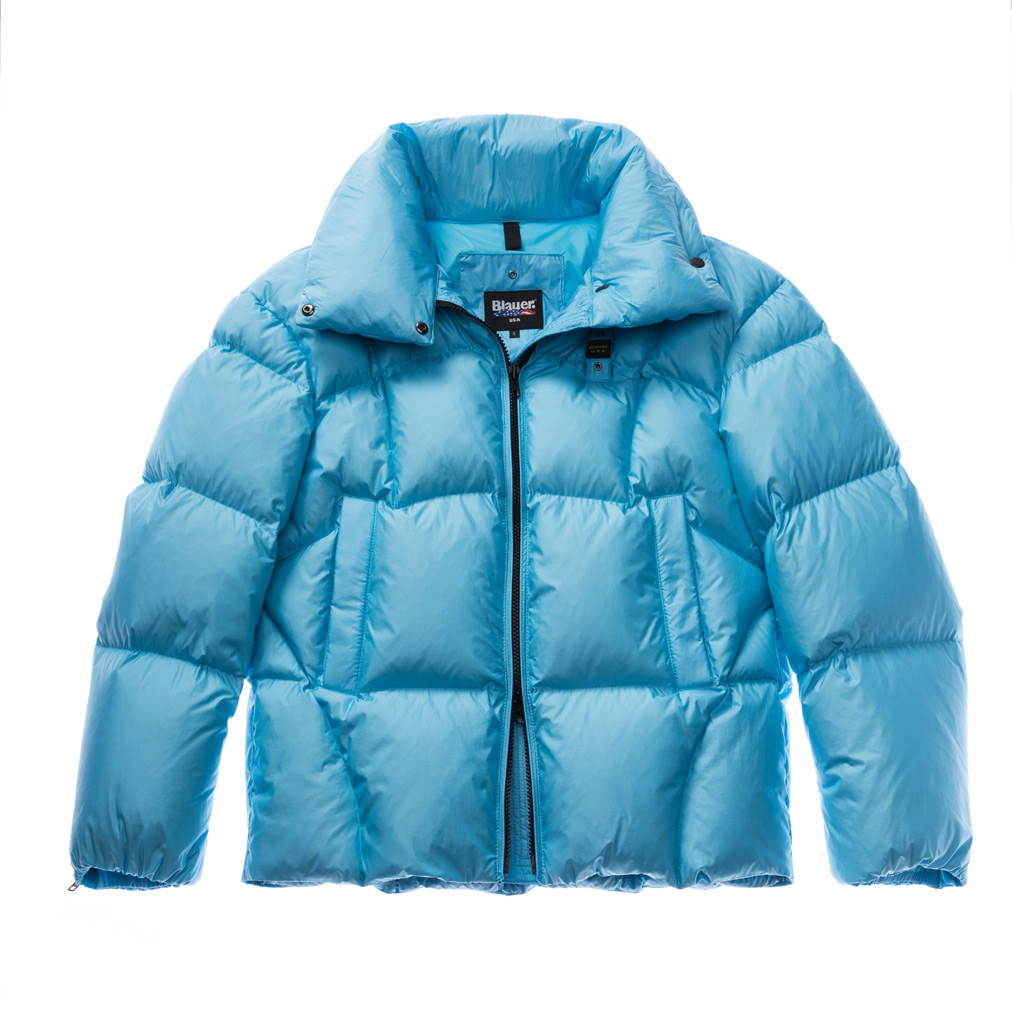 Down Jacket con imbottitura recycled