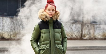 Down Jackets di Blauer Recycled - foto di James Mollison