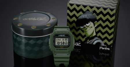 G-Shock x Gorillaz DW5600 per Murdoc