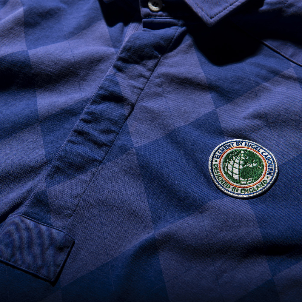 Element x Nigel Cabourn, SS2020, la polo
