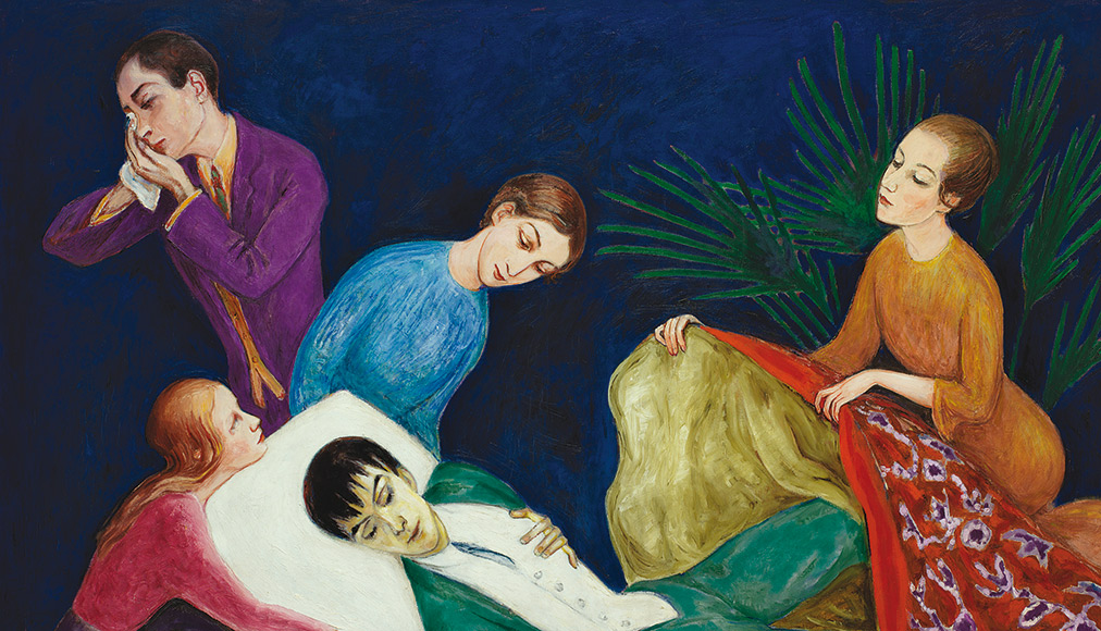 Outsiders 2, Nils Dardel - The Dying Dandy