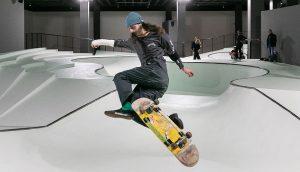 Lo skatepark della triennale, foto di Gianluca di Ioia