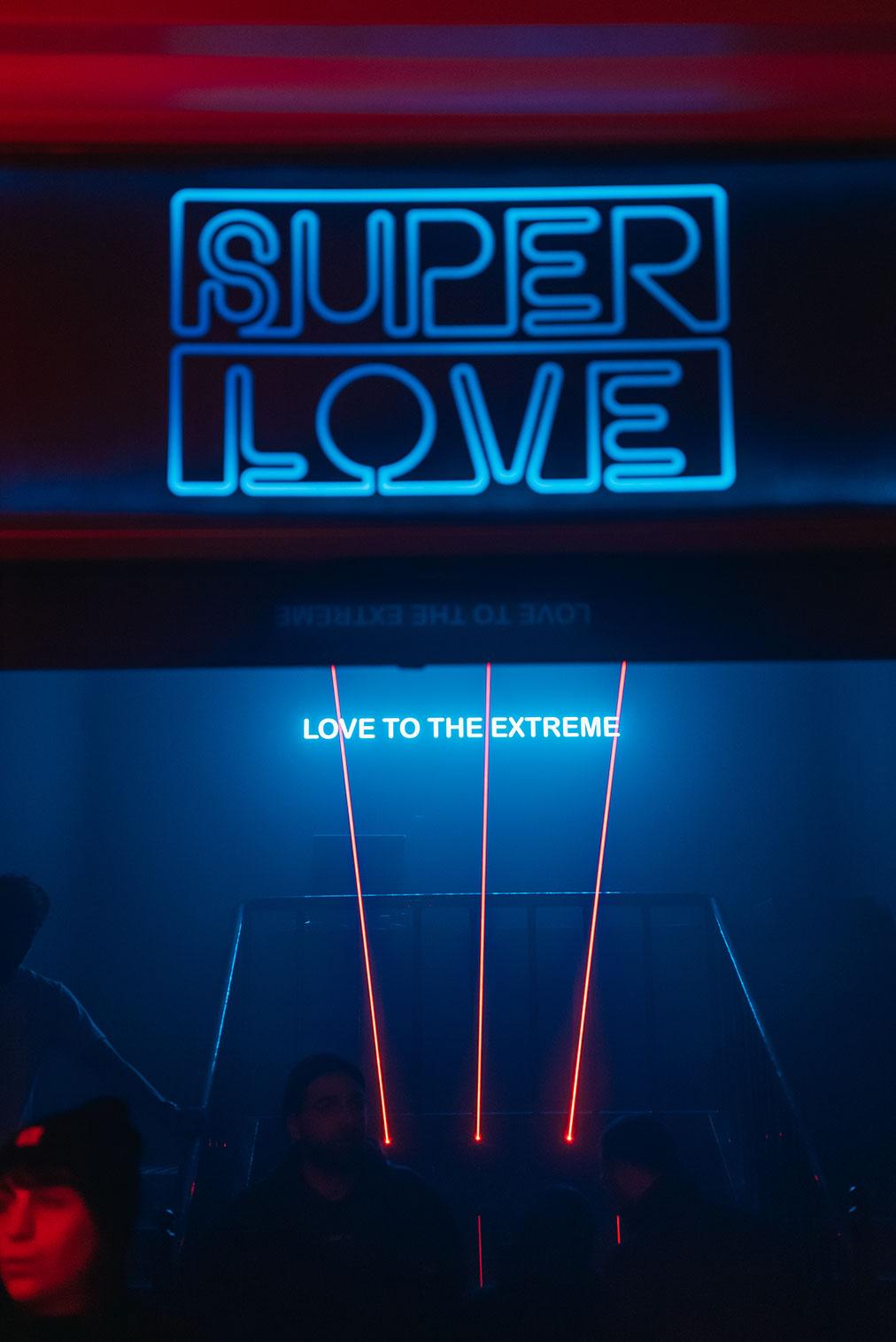 Superlove inaugurazione, foto di Olga Mai