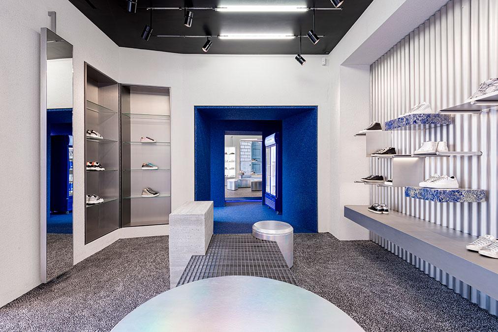 lo store di P448 a Milano