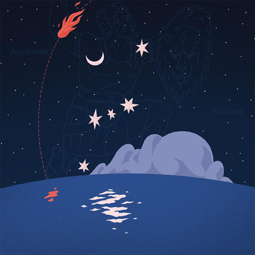 Aquarama - cover di Teleskop