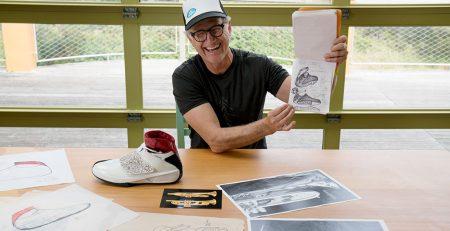 documentari sulle sneakers Tinker Hatfield, Nike Jordan