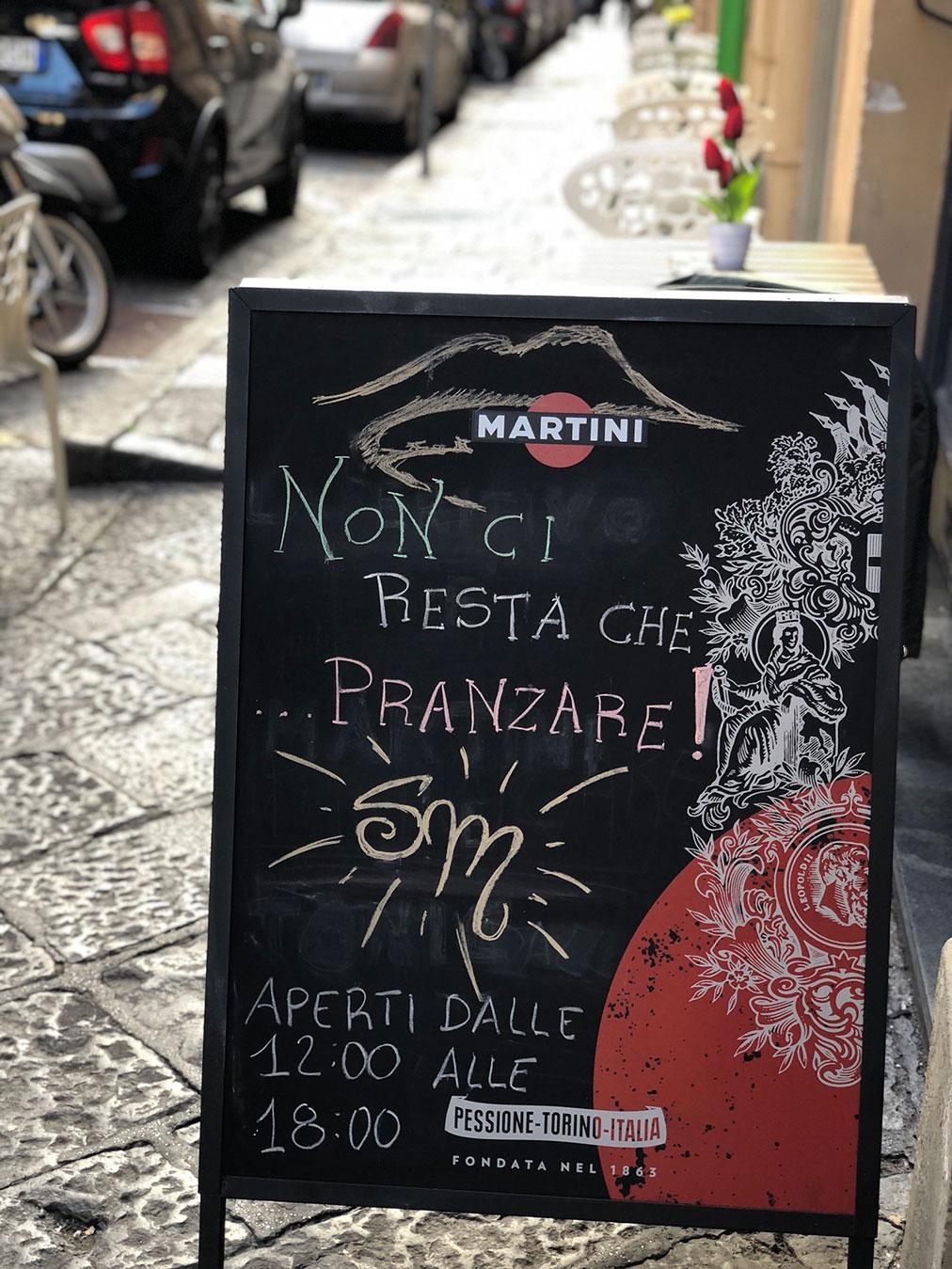 Salotto Martucci Napoli