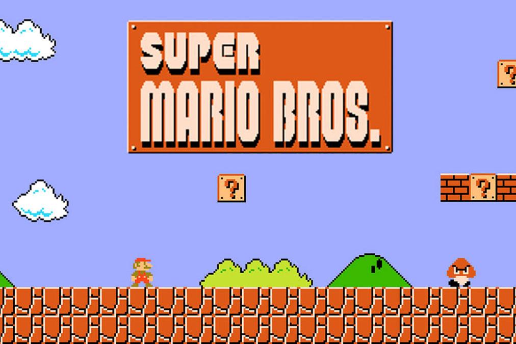 Super Mario Bros retrogaming