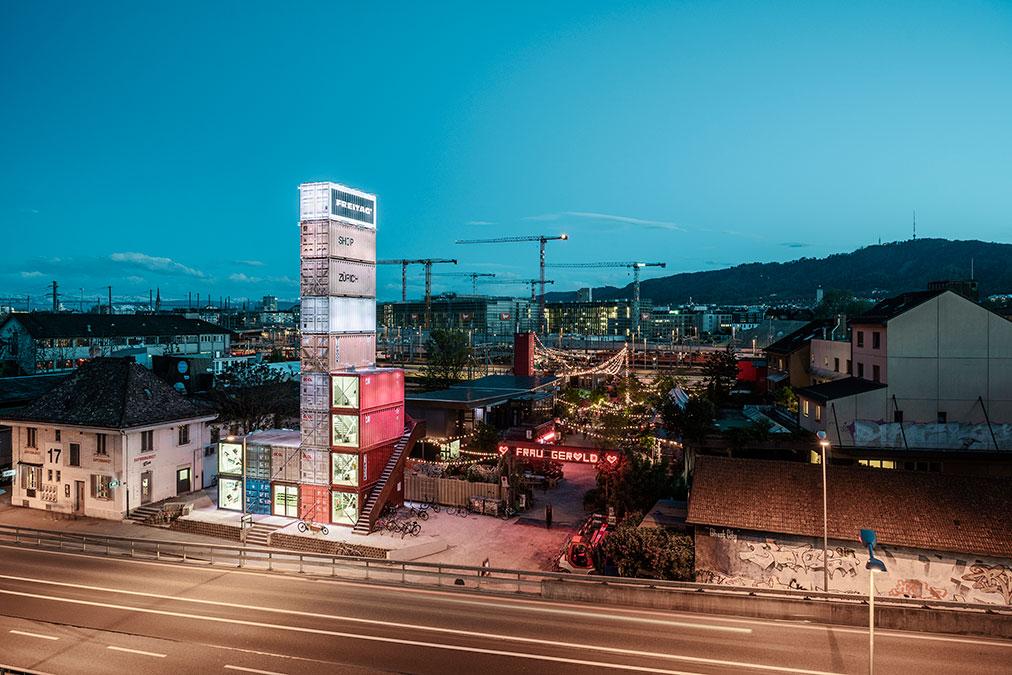 La torre di Zurigo
