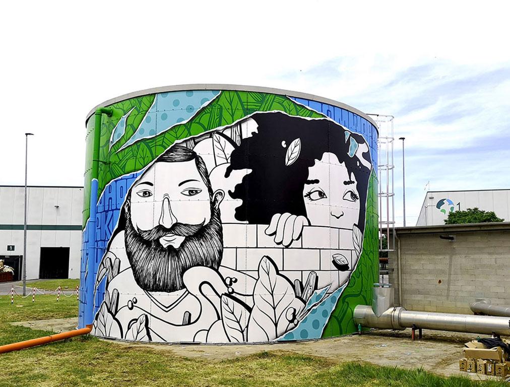 SeaCreative Silos Parklife